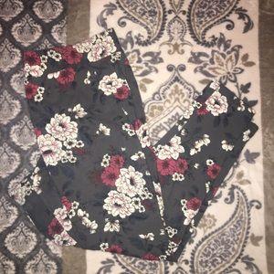 Torrid floral leggings (GC)